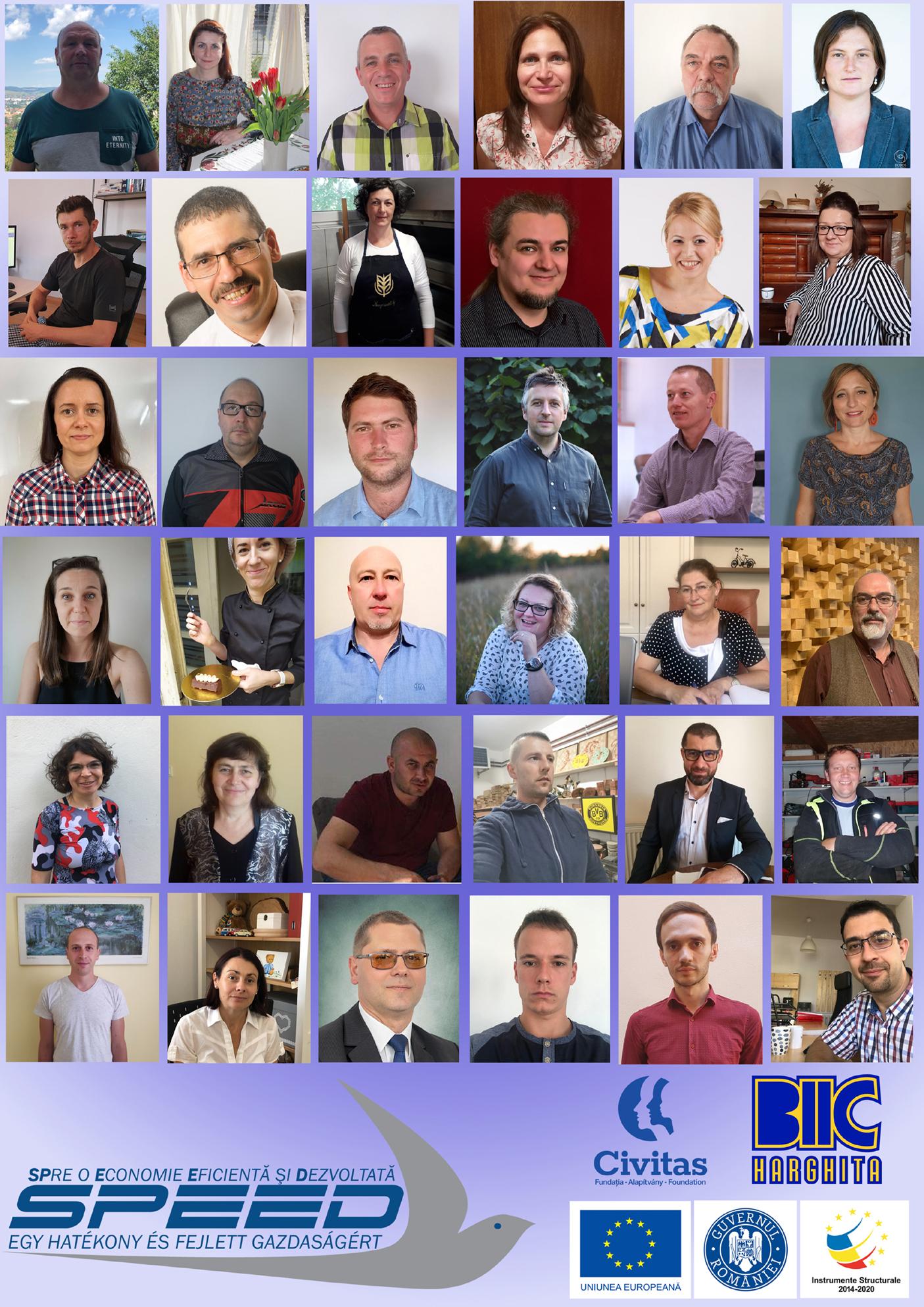 Succes de 100%  înregistrat de către cele 36 de întreprinderi înființate în cadrul proiectului SPEED Start Up Plus!